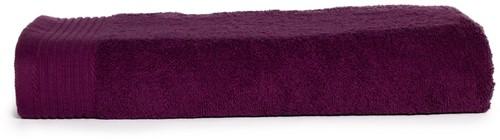 T1-100 Classic beach towel - Plum - 100 x 180 cm
