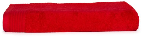 T1-100 Classic beach towel - Red - 100 x 180 cm