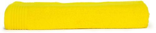 T1-100 Classic beach towel - Yellow - 100 x 180 cm