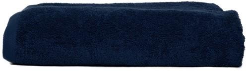 T1-210 Super size towel - Navy blue - 100 x 210 cm