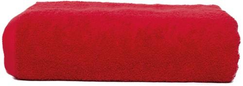 T1-210 Super size towel - Red - 100 x 210 cm