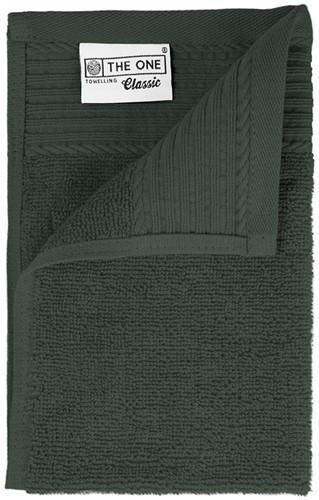 T1-30 Classic guest towel - Anthracite - 30 x 50 cm