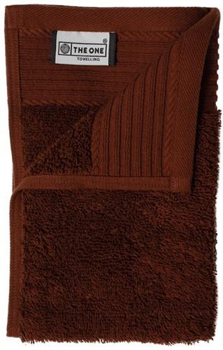 T1-30 Classic guest towel - Brown - 30 x 50 cm