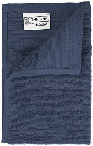 T1-30 Classic guest towel - Denim faded  - 30 x 50 cm
