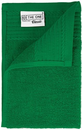 T1-30 Classic guest towel - Green - 30 x 50 cm