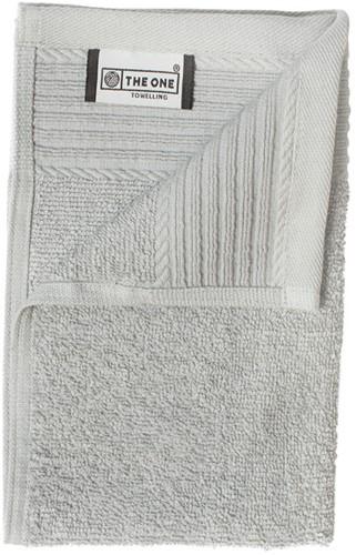 T1-30 Classic guest towel - Light grey - 30 x 50 cm