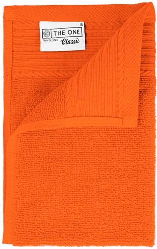 T1-30 Classic guest towel - Orange - 30 x 50 cm