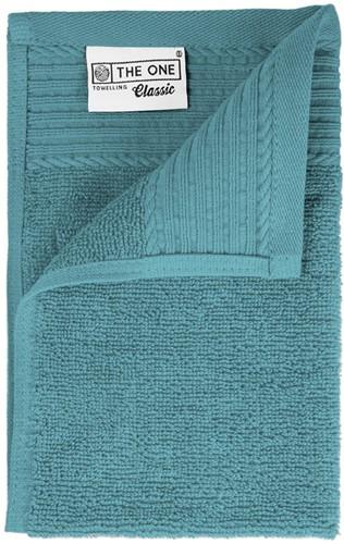 T1-30 Classic guest towel - Petrol - 30 x 50 cm