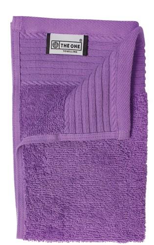 T1-30 Classic guest towel - Purple - 30 x 50 cm