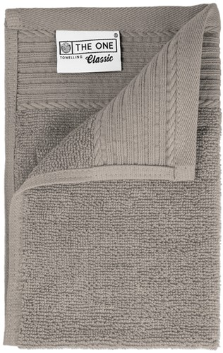 T1-30 Classic guest towel - Taupe - 30 x 50 cm