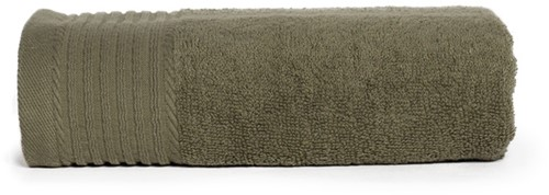 T1-50 Classic towel - Olive green - 50 x 100 cm