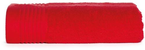 T1-50 Classic towel - Red - 50 x 100 cm
