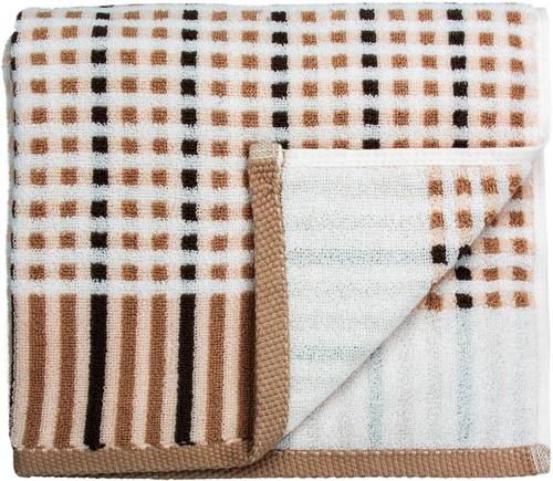 T1-AUTUMN60 Exclusive towel - Brown - 60 x 110 cm