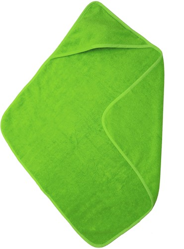 T1-BABYT Baby cape - Lime green - 75 x 75 cm