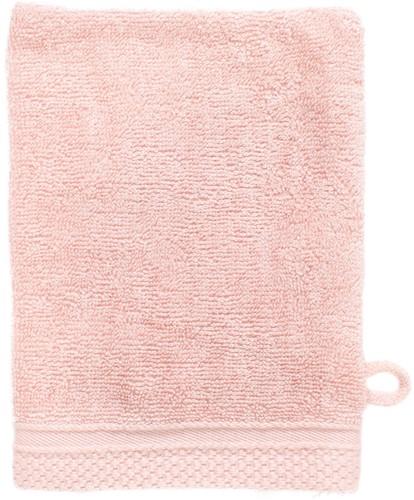 T1-BAMWASH Bamboo washcloth - Salmon - 16 x 21 cm