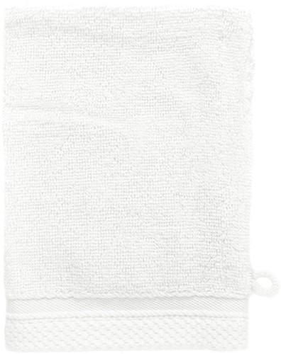 T1-BAMWASH Bamboo washcloth - White - 16 x 21 cm