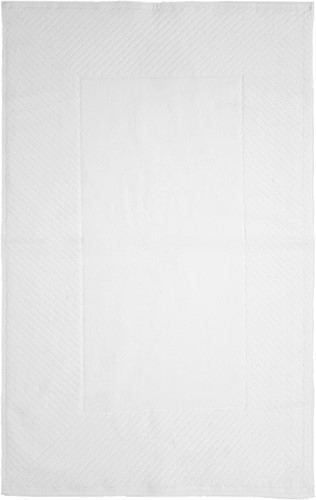 T1-BATH80 Bathmat - White - 50 x 80 cm