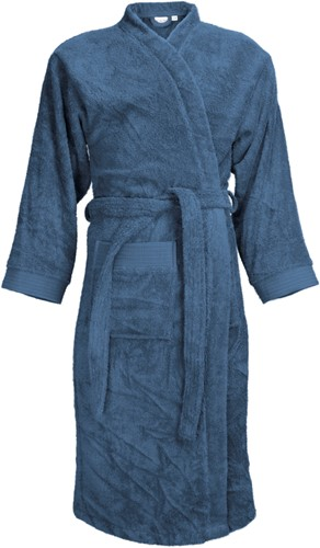 T1-B Bathrobe - Denim faded  - 2XL/3XL