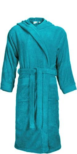 T1-BH Bathrobe hooded - Turquoise - L/XL