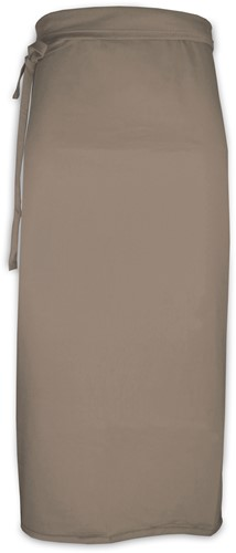 T1-BISTRO90 Bistro long - Taupe - 90 x 100 cm