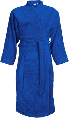 T1-B Bathrobe - Royal blue - S/M