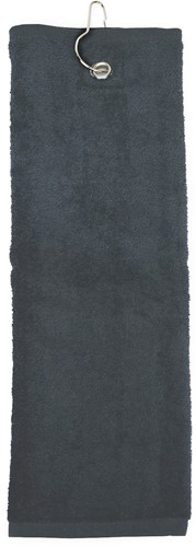 T1-GOLF Golf towel - Anthracite - 40 x 50 cm