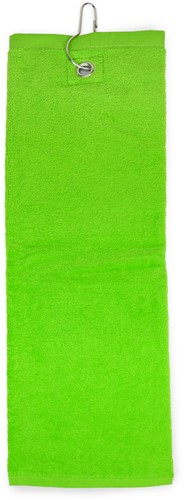 T1-GOLF Golf towel - Lime green - 40 x 50 cm