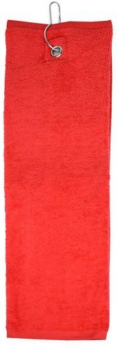 T1-GOLF Golf towel - Red - 40 x 50 cm
