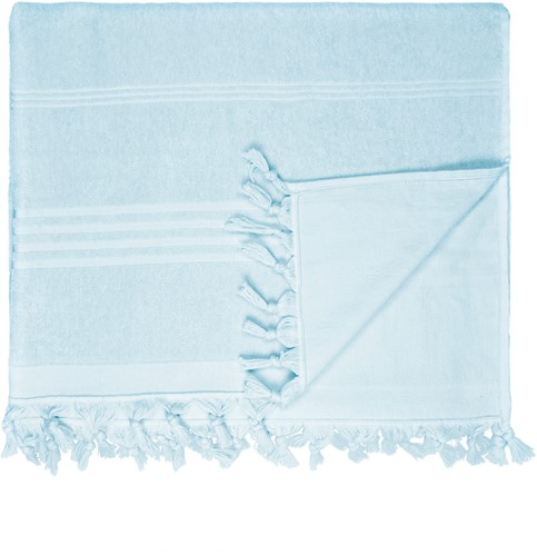 T1-HAMTERRY Hamam terry towel - Light blue - 100 x 165 cm