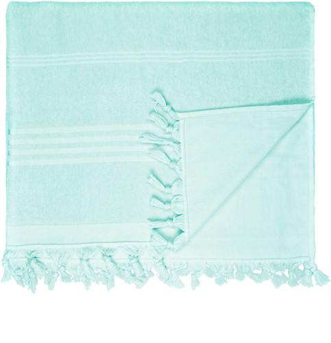 T1-HAMTERRY Hamam terry towel - Mint - 100 x 165 cm