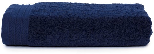 T1-ORG100 Organic beach towel - Navy blue - 100 x 180 cm