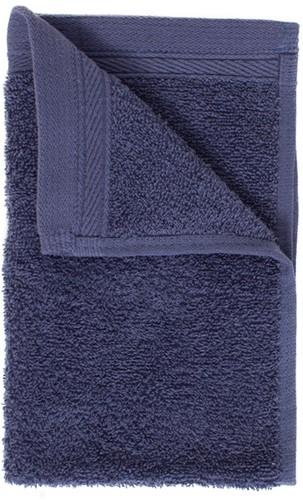 T1-ORG30 Organic guest towel - Denim faded  - 30 x 50 cm