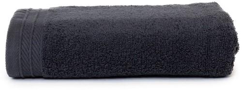T1-ORG50 Organic towel - Anthracite - 50 x 100 cm