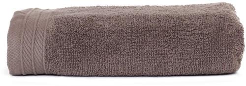 T1-ORG50 Organic towel - Taupe - 50 x 100 cm