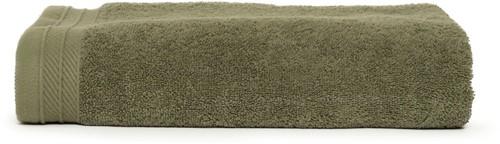 T1-ORG70 Organic bath towel - Olive green - 70 x 140 cm