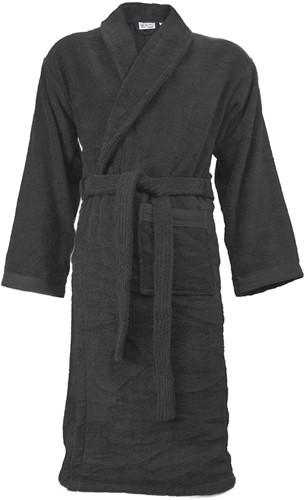 T1-ORGB Organic bathrobe - Anthracite - 2XL/3XL