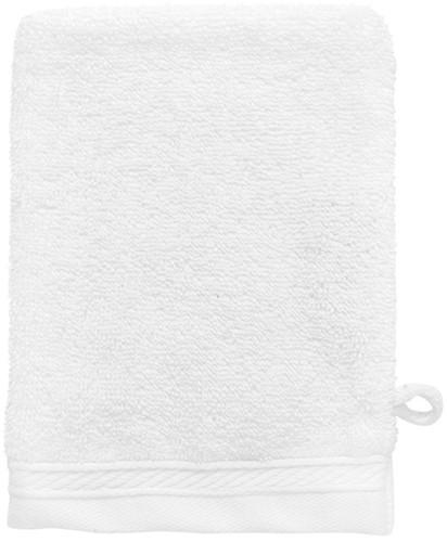T1-ORGWASH Organic washcloth - White  - 16 x 21 cm