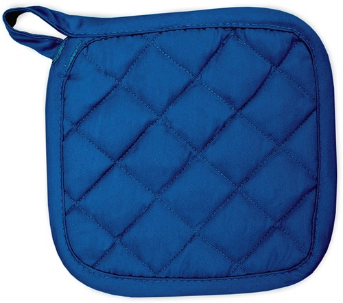 T1-POT Pot holder - Royal blue - 21 x 21 cm
