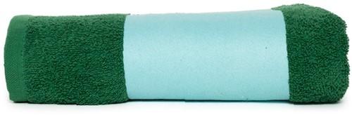 T1-PRINT50 Sublimation towel - Green - 50 x 100 cm