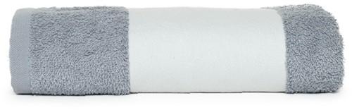 T1-PRINT50 Sublimation towel - Light grey - 50 x 100 cm