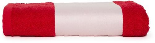 T1-PRINT50 Sublimation towel - Red - 50 x 100 cm