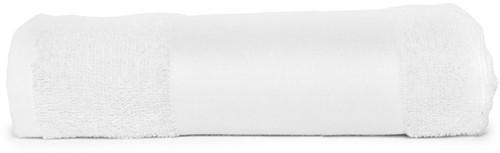 T1-PRINT50 Sublimation towel - White - 50 x 100 cm
