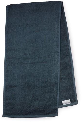 T1-SPORT Sport towel - Anthracite - 30 x 130 cm