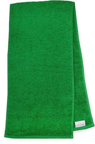 T1-SPORT Sport towel - Green - 30 x 130 cm