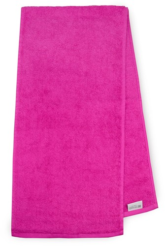 T1-SPORT Sport towel - Magenta - 30 x 130 cm
