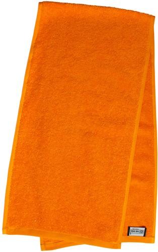 T1-SPORT Sport towel - Orange - 30 x 130 cm