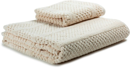 T1-SPRING60 Exclusive towel - Shell - 60 x 110 cm