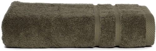 T1-ULTRA70 Ultra deluxe bathtowel - Olive green - 70 x 140 cm