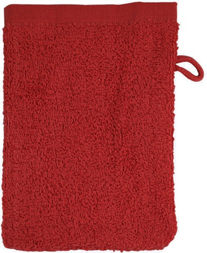 T1-WASH Washcloth - Burgundy - 16 x 21 cm