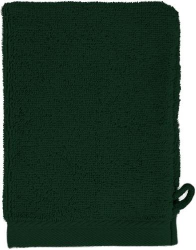 T1-WASH Washcloth - Dark green - 16 x 21 cm